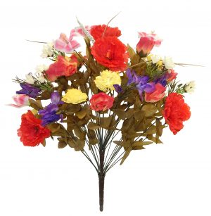 "Spring 25"" tall mixed flower bouquet with 40 stems"