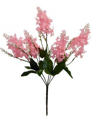 "Pink 15"" lilac Bush x 5"