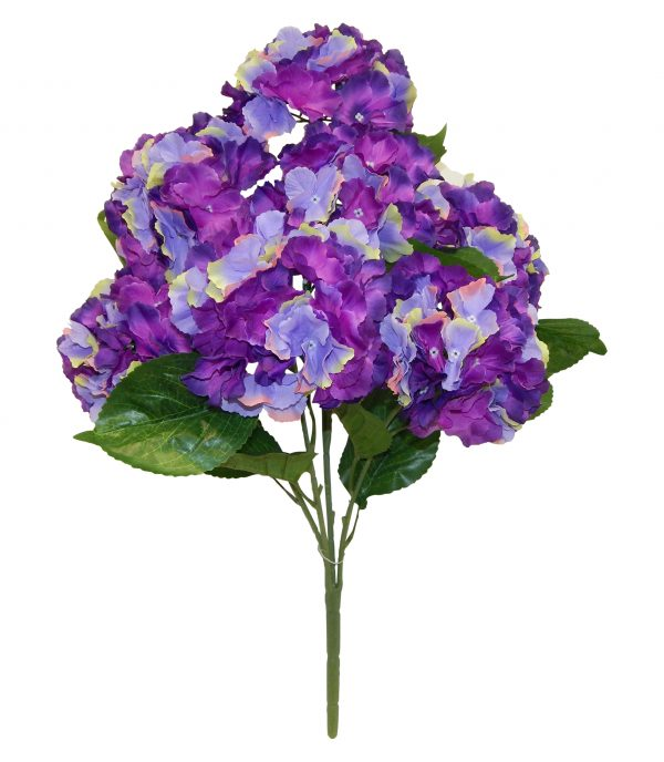 "Purple 25"" Jumbo hydrangea Bush x 7"