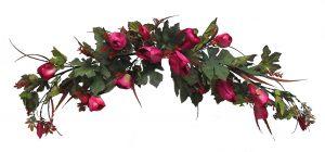 "Fuchsia 40"" Long Silk Tulip Swag"