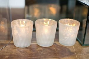 Luxe Votive 2.75in x 2.8in  Matte White