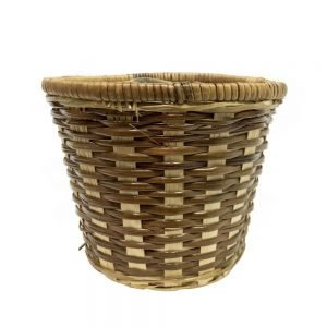 6in bamboo basket