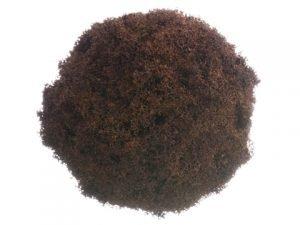"""6.5"""" Lichen Twig Ball Brown"""