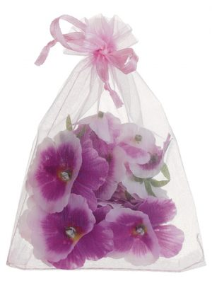 "5.5"" Pansy Petal in Bag (24 ea./Bag) Orchid"