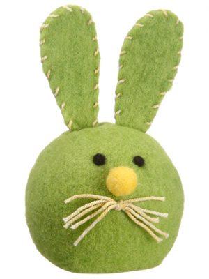 "6.5"" Bunny Green Yellow"