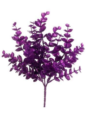 "10"" Eucalyptus Pick x3 Purple Iridescent"