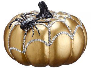 "5.5"" Spider Punpkin Gold Black"