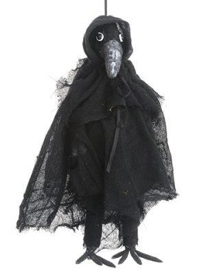 "18"" Mr. Crow Ornament Black Brown"