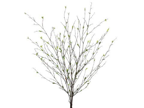 """36"""" Bamboo Branch x6 withMini LeavesGreen"""