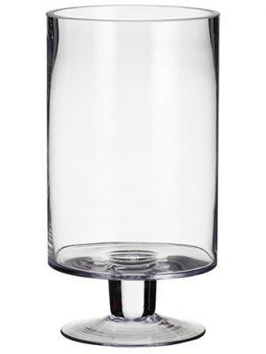 "11""H x 6""D Glass Vase Clear"