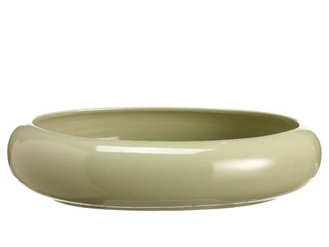 "10""Dx2.5""H Oval Container Sage"