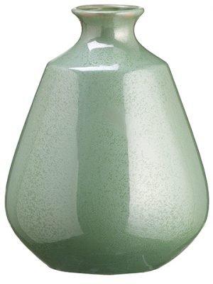 """11.4"""" Ceramic Vase Celadon"""