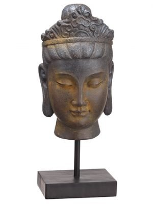 "13.5"" Buddha Antique Brown"