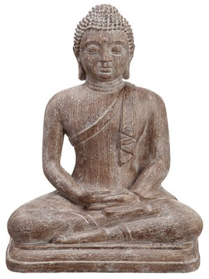 "12"" Buddha Antique Brown"
