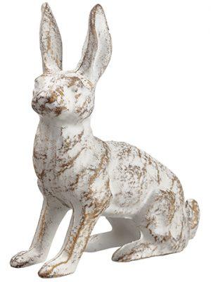 "5.5"" Sitting Bunny Antique Beige"