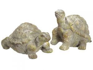 "2.5""H-3.5""H Turtle (2 ea/set) Antique Green"