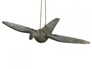 "35.04"" Polyresin Hanging Bird Iron"