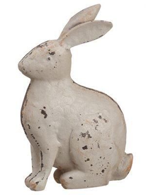 """4.75"""" Bunny Antique Cream"""