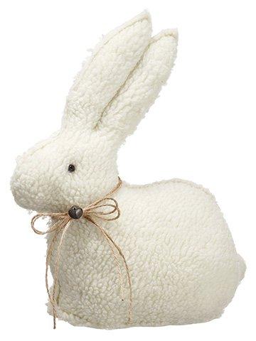 """13""""H x 11""""L Bunny Cream"""