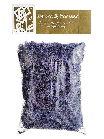 "10.5"" Assorted PreservedReindeer Moss in Bag (170Grams/Bag) Purple"
