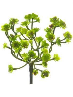 "8.5"" Soft Plastic Sedum Pick Green"