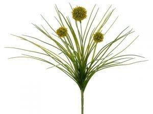 """18"""" Allium Bush Yellow"""
