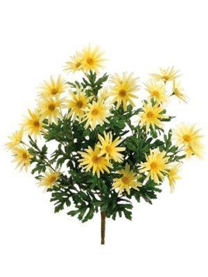 "19"" Daisy Bush x12 Yellow"