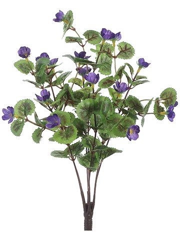 "11"" Mini Geranium Bush x7 Purple"