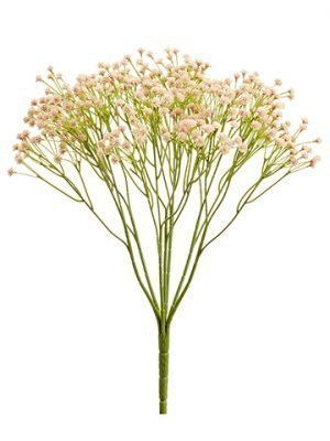 "15"" Baby's Breath Bush x7 Blush"