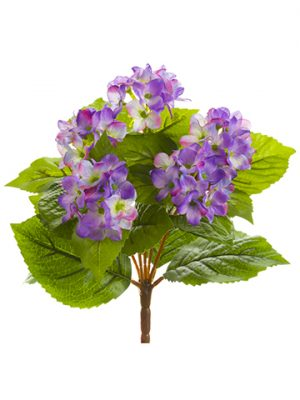 "10"" Hydrangea Bush Lavender"