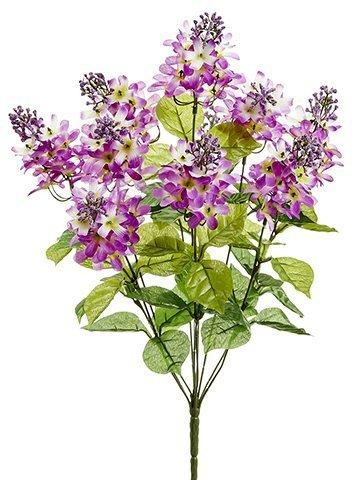 """20.5"""" Lilac Bush x10 Lilac Purple"""