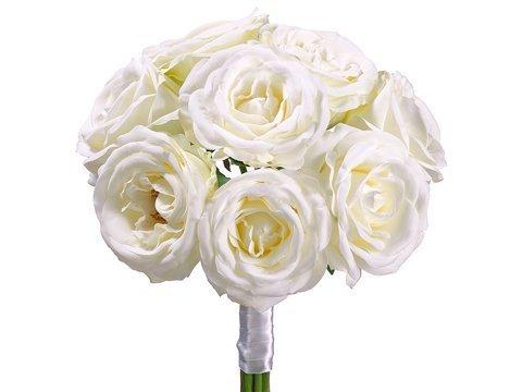 """11"""" Rose BouquetCream"""