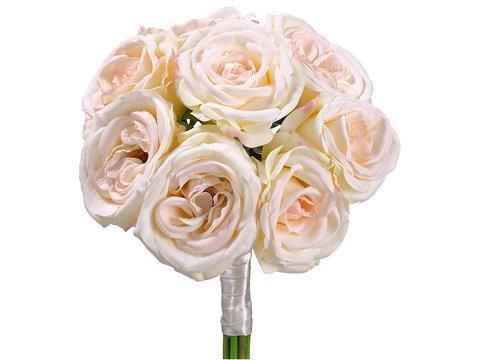 "11"" Rose BouquetCream Blush"
