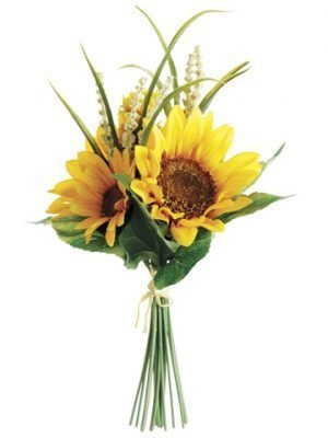 "11"" Sunflower Bouquet Yellow"