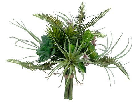 """10.5"""" Succulent GardenBouquetGreen"""