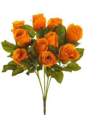 """16"""" Rose Bush x5 Orange"""