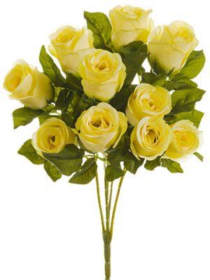 """16"""" Rose Bush x5 Vanilla"""