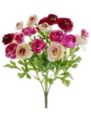 "10.5"" Mini Ranunculus Bush Cerise Beauty"