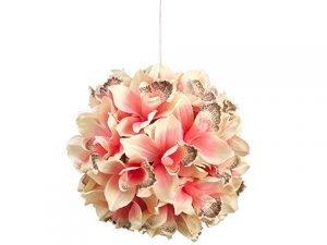 "8"" Cymbidium Orchid KissingBallBlush Pink"