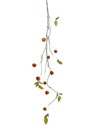 """53"""" Mixed Chestnut Garland Orange Olive Green"""