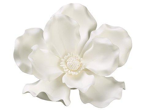 "13"" Magnolia Hanging FlowerHeadCream White"