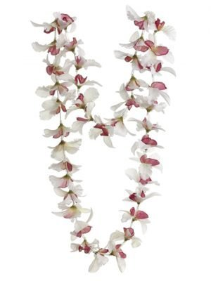 "23"" Orchid Necklace Cream Orchid"