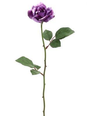 "23"" Single Medium Rose Sprayx1Purple"
