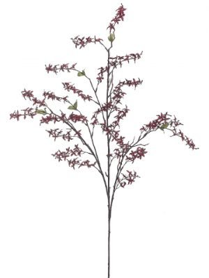"""50"""" Star Blossom Spray Burgundy"""