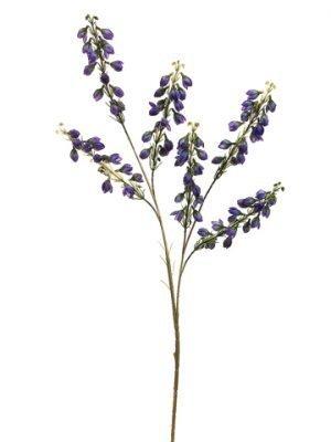 """27"""" Baby Blossom Spray x6 Purple"""