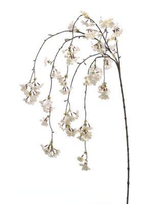 "58"" Cherry Blossom HangingSprayCream"