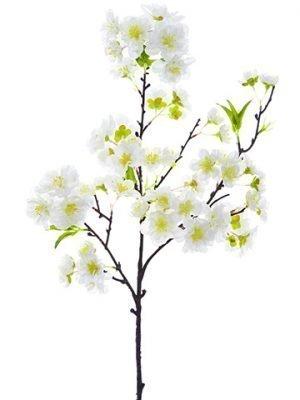 """18"""" Cherry Blossom Spray White"""