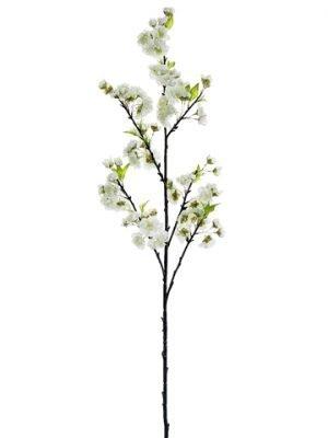 """45"""" Cherry Blossom Spray White"""