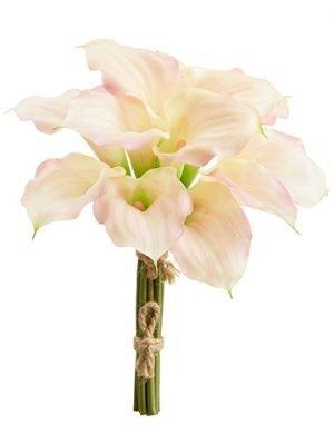 """11"""" Calla Lily Bundle x12 Soft Pink"""