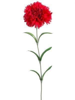 """25"""" Carnation Spray Red"""